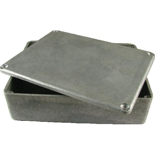 "Chassis Box - Diecast Aluminum, 4.7"" x 3.7"" x 1.18"" image 1"