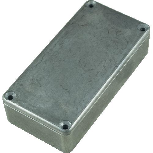 "Chassis Box - Hammond, 1590G, Diecast, 3.94"" x 1.97"" x 0.83"" image 1"
