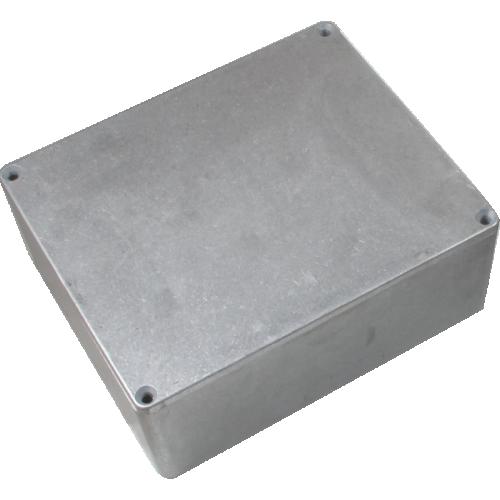 "Chassis Box - Hammond, Unpainted Aluminum, 5.3"" x 4.4"" x 2.2"" image 1"