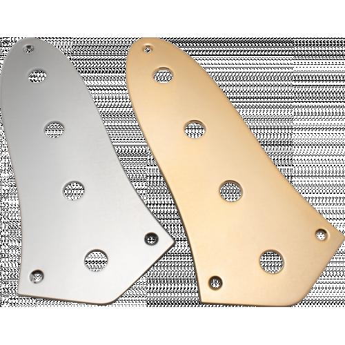Control plate - Fender®, for Standard J-Bass, Chrome image 1