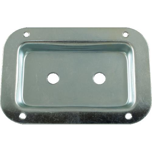 "Jack Plate - 2-Hole, Metal, 3.5"" x 5.13"" image 2"