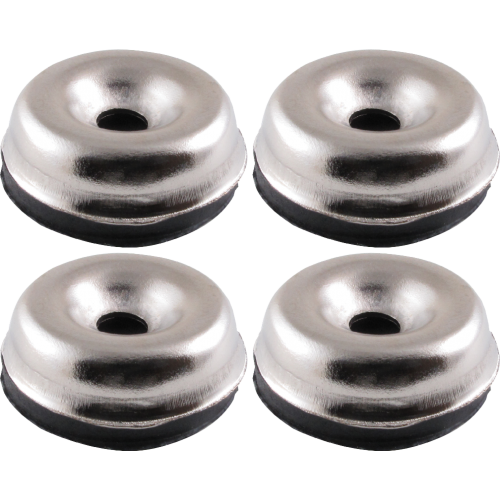 "Foot - Chrome Glides, 15/16"" diameter image 2"