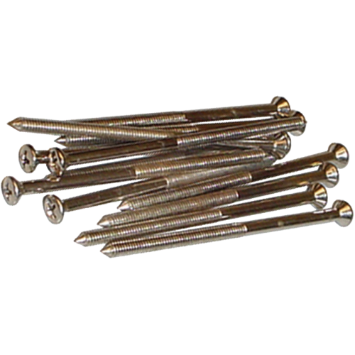 Screws for Chassis Straps, 8-32 X 3 1/4, package of 12 image 1