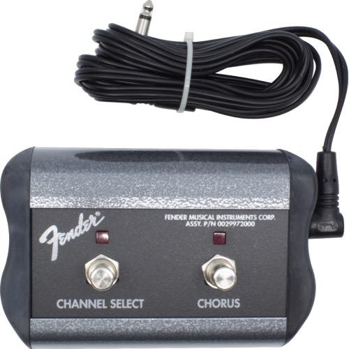 Footswitch Box - Fender, Two Button (Channel / Chorus) image 1