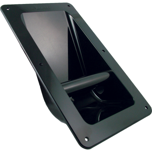 Handle - Marshall, Black Plastic, Recessed for Cabinet image 1