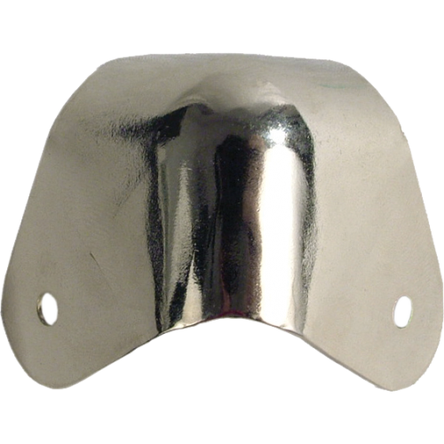 Corners - Fender, for amplifier, Nickel, 2-Hole with hardware image 2