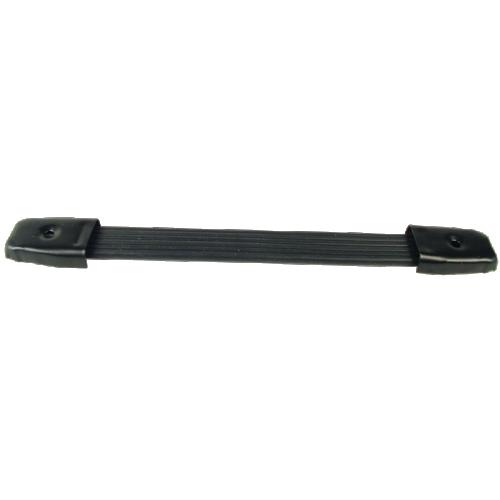 "Handle - Black Plastic, Black Caps, Strap, adjustable 8"" - 8.75"" image 1"