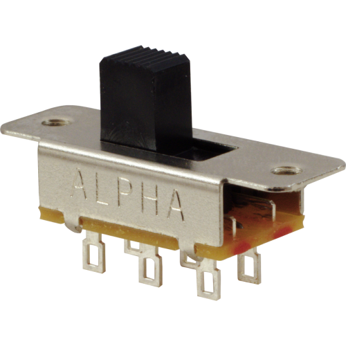 Switch - Alpha, Slide, DPDT, Replacement for Fender® image 1