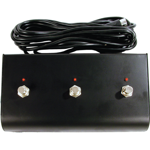 Footswitch Box - for Marshall, Three Button, LED, DIN Plug image 1
