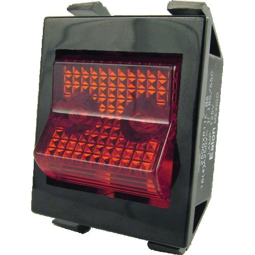 Switch - Peavey, DPST, Rocker, Lighted image 1