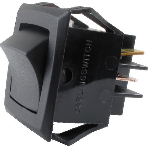 Switch - Fender®, Rocker, DPST, Pseudo-IEC image 1