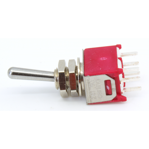 Switch - Carling, Submini Toggle, DPDT, 2 Position, PC Pins image 3