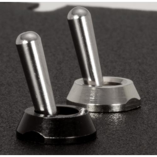 Nut - Dress Nut, For Mini Toggle Switches image 1