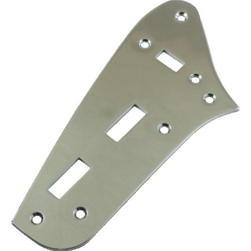 Control Plate - Jaguar Style, Preset, Chrome image 1