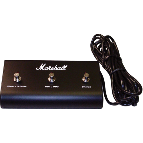 Footswitch - Marshall, 3 Button with LED image 1