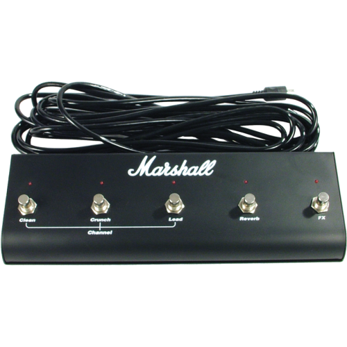 Footswitch (PEDL00021), Original Marshall, Five Button with LED (Clean, Crunch, Lead, Reverb, FX) image 1