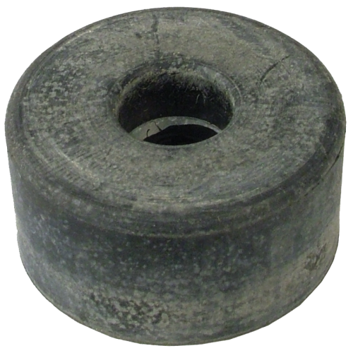 "Foot - Rubber, 1.5"" x .75"", with Metal Washer image 1"