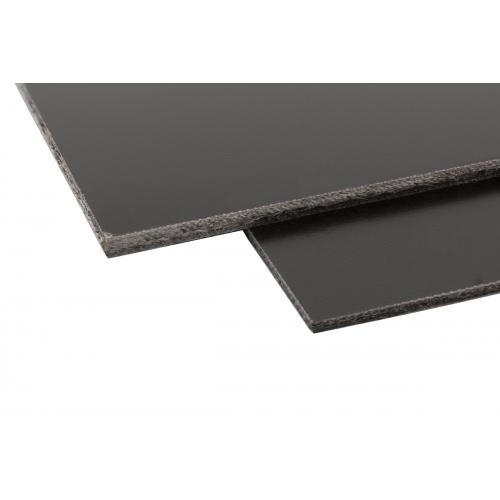 "Turret Board - Blank, No Holes, Black G-10, 11-7/8"" x 7-1/16"" image 1"