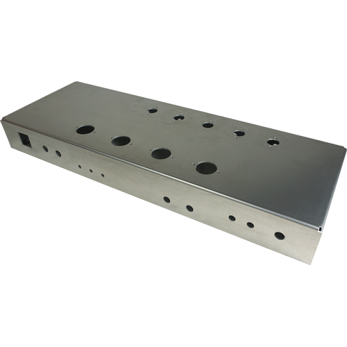 "Chassis - 22.25"" x 7.68"" x 2.56"", Pre-Drilled, Custom Amplifier image 1"