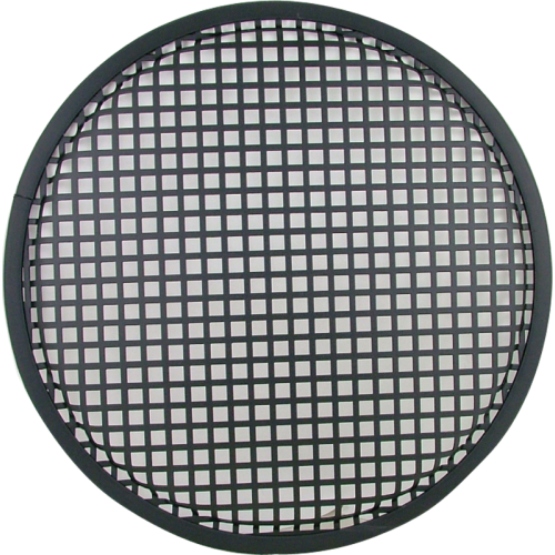 "Speaker Grill - 12"", Flat Black image 1"