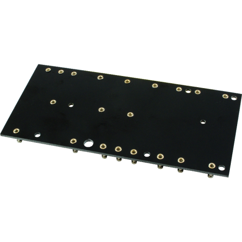 Turret Board - Black, 2mm, 5F1 Layout image 2