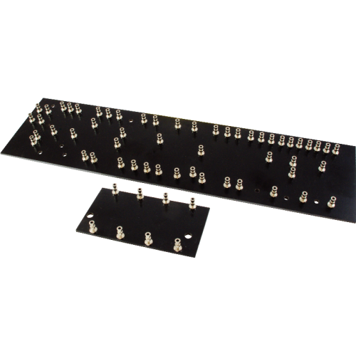 Turret Board - Black, 2mm, 5F6A Layout, 2 pcs image 1