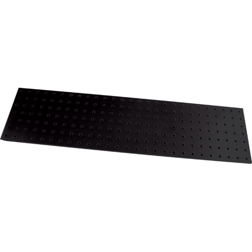 Turret Board - Blank, 3 mm, 189 Holes, 258mm x 67mm, Black image 1
