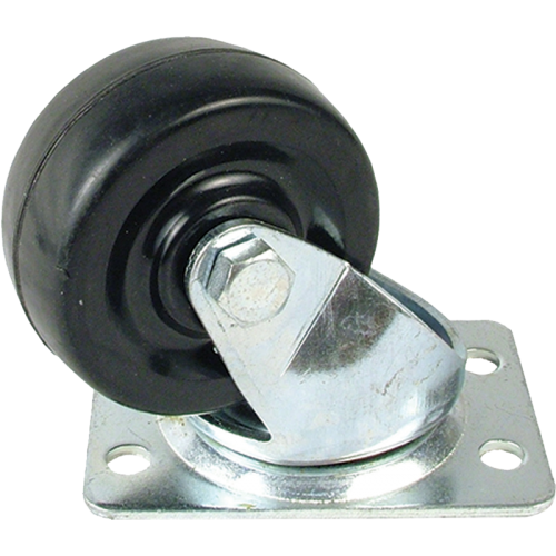 "Caster - Small Swivel, 2"", 4 Screw Mount image 1"