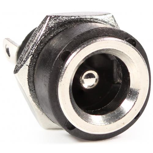 Power Jack - DC Panel Mount, Low Profile, 5.5mm External, 2.1mm Internal image 1