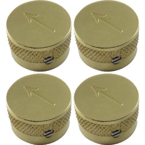 Knob - Gretsch, Gold with Arrow, Set Screw image 1