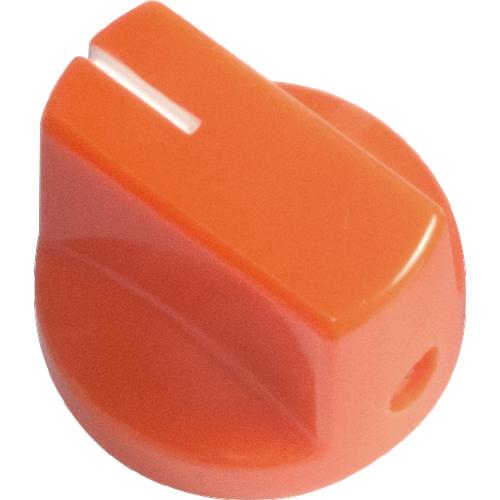 Knob - Orange, White Line, Small, Set Screw image 1
