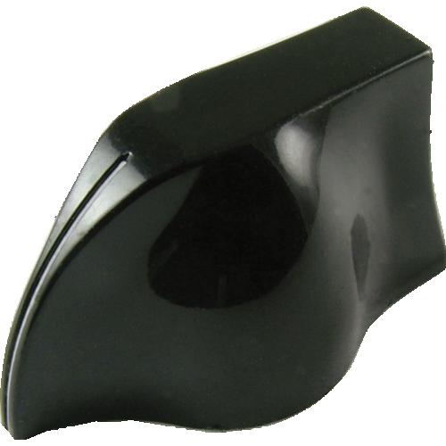 Knob - Peavey, Black Pointer, White Line image 1