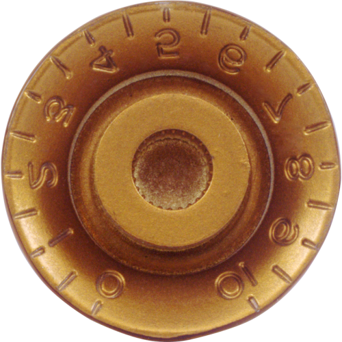 Knob - Top Hat, Embossed Numbers, Gibson Style image 2