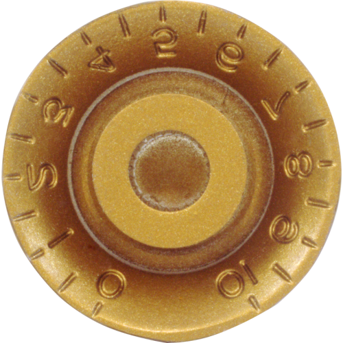 Knob - Top Hat, Embossed Numbers, Gibson Style image 6