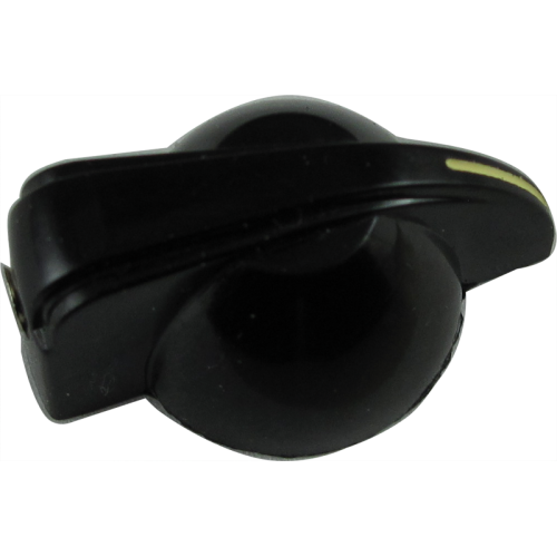 Knob - Small Chicken Head, Black, Set Screw image 3