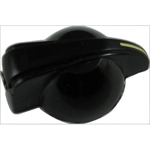 Knob - Small Chicken Head, Black, Set Screw image 3