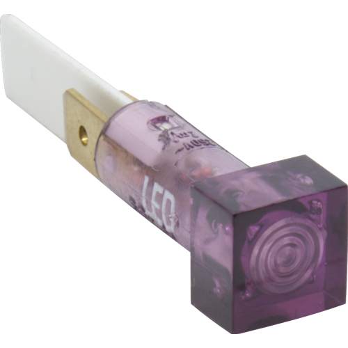 Indicator Light - Marshall, Purple Square, LED image 1