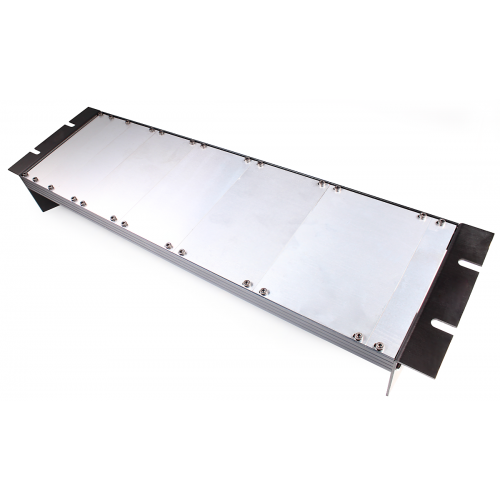 Panel - Eurorack Blanks, Reversible Black / Aluminum, 1.6mm image 3