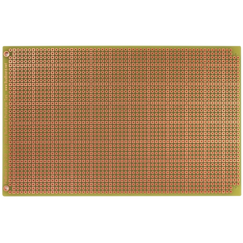 "PadBoard - Double Sided, Plated Holes, 6.30"" x 3.94"", Mounting Holes image 1"