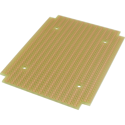 ProtoBoard - Fits 1590BB, 1 sided, 2-hole strips image 2