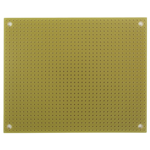 "StripBoard - Single Sided, 3.94"" x 3.15"", Mounting Holes image 2"