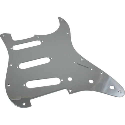 Pickguard, Fender® American Stratocaster 11-hole chrome image 1