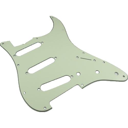 Pickguard - Fender, Vintage '62 Strat, 11-Hole, Mint Green image 1