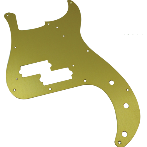 Pickguard - Fender®, for '57 P-Bass, Gold-Anodized image 1