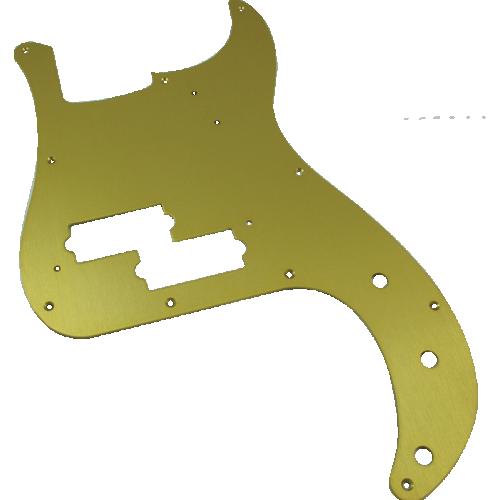 Pickguard - Fender®, '57 P-Bass, Gold-Anodized image 1