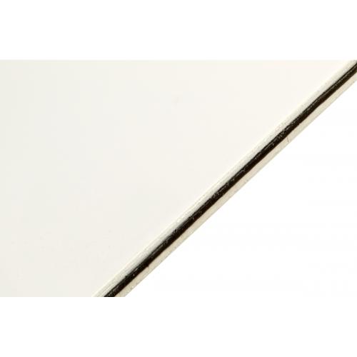 Pictured: White/Black/White, 3-Ply