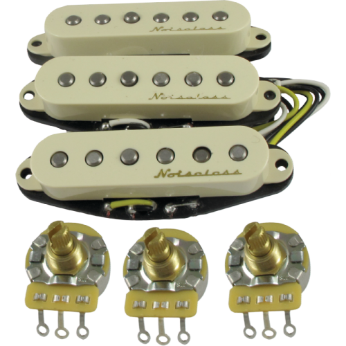 Pickup - Fender, Vintage Noiseless set for Stratocaster image 1