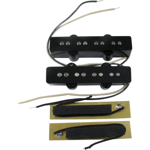 Pickup - Fender®, bridge and neck for Jazz Bass image 1