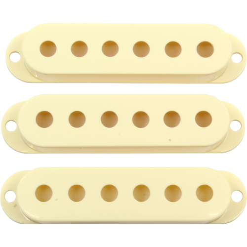 Cover - Fender®, 3 Pieces, Road Worn®, Aged White image 1