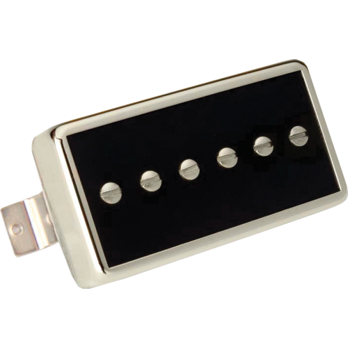 Gibson P-94R Single Coil Humbucker-Sized P-90, (IMP4R-BS) Neck, Black with Chrome image 1